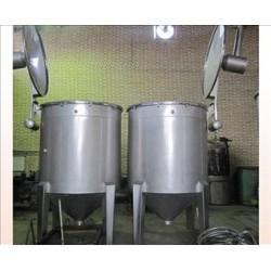 دیگ پخت دستگاه تقطیر با سیستم بخار