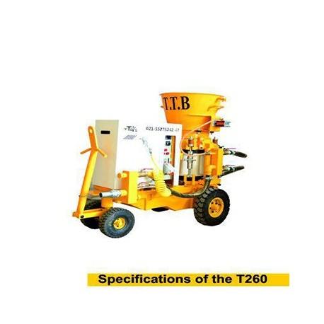دستگاه شاتکریت T260
