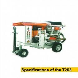 دستگاه شاتکریت T263