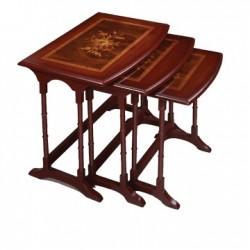 میز سه تکه پایه خراطی